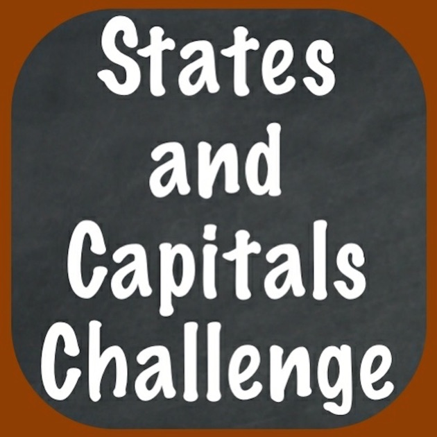 States And Capitals Challenge Flash Cards Speed Quiz For The United States Of America On The App Store