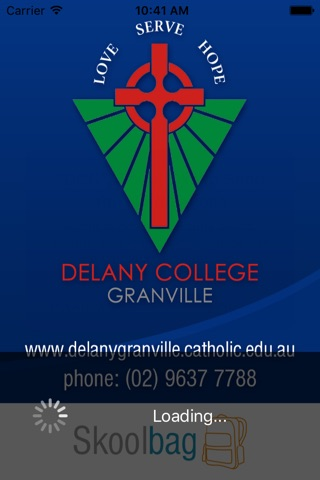 Delany College Granville - Skoolbag screenshot 1
