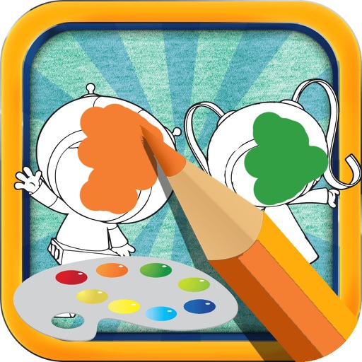 Color Book Game For Kids: Team Umizoomi Version iOS App