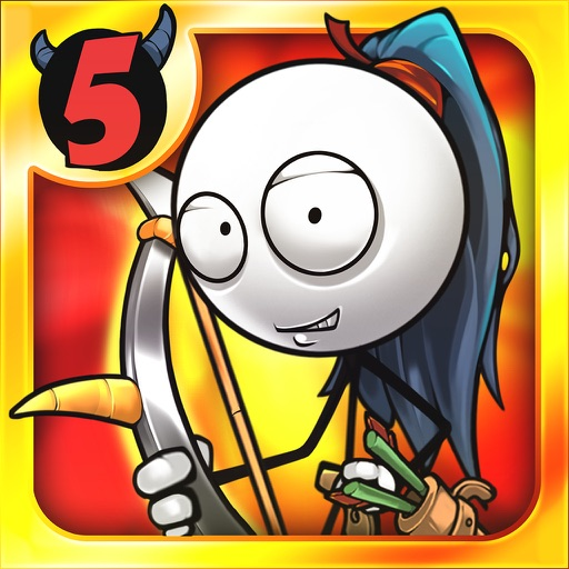 Cartoon Defense 5 : An Unexpected Adventure iOS App