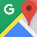 Google Maps- verkehr, öffentlicher verkehr, nahegelegene orte und ...