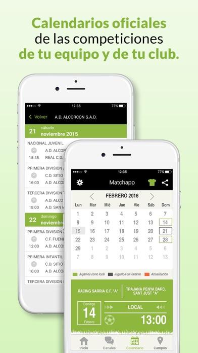 download Matchapp - Calendario, resultados de tu Federación apps 0