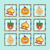 The Best Photo Matching Card Game Vegetable & Fruit for Kids and Toddlers Puzzle Logic Free