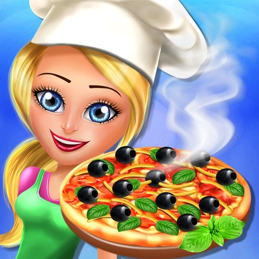 Pizza Maker Shop - A Happy Chef Italian Food Cooking Restaurant Kids Games For Girls & Boys Icon