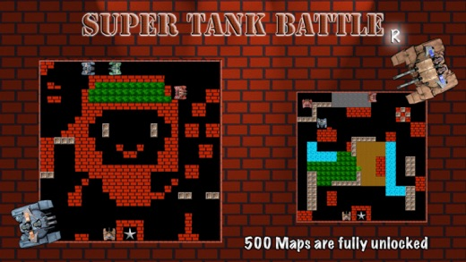 Super Tank Battle R - Type X Screenshots