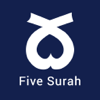 5 Surahs - Mostly read five Surah of Al-Quran with proper Tajweed, 15+ Translations & Recitation