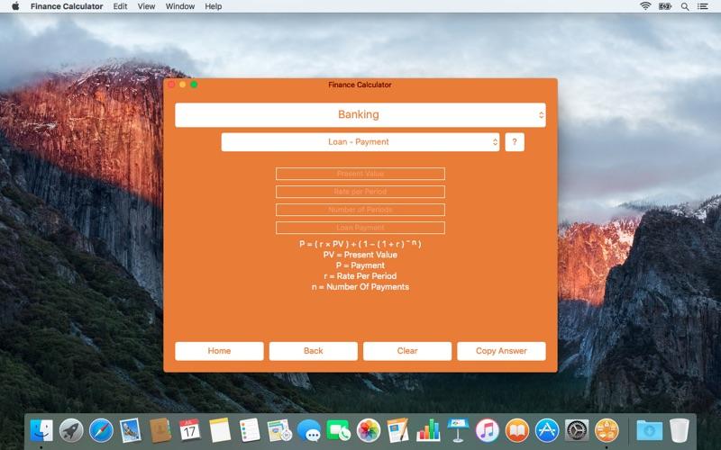Finance Calculator for Mac