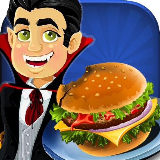 Dracula Ham-burger Spooky Cafe : Master-Chef monster Fast Food Restaurant pro iOS App