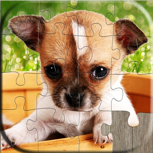 Dog Puzzles - Relaxing photo picture puzzles for kids and adults iOS App