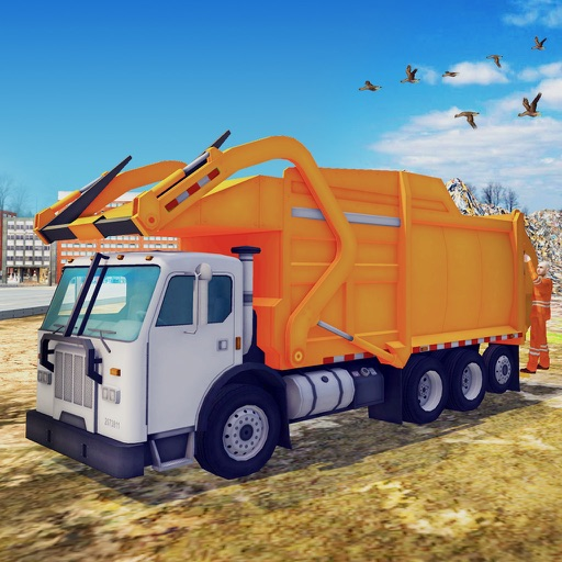 Garbage Dump Truck Simulator 3D – Heavy Duty Trash Transporter Simulation iOS App