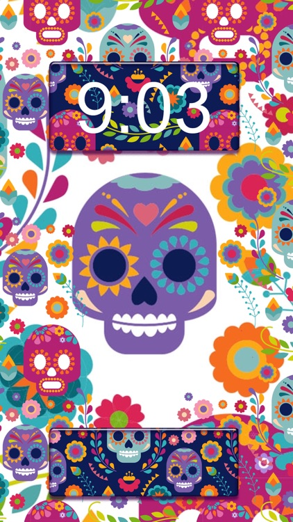 Skull Wallpaper Collection Day Of The Dead Background Images And Scary Lock Screen Themes