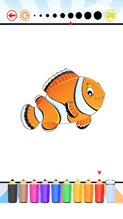 aquarium coloring book for kids free hd all pages coloring and painting book games - Kids Painting Book
