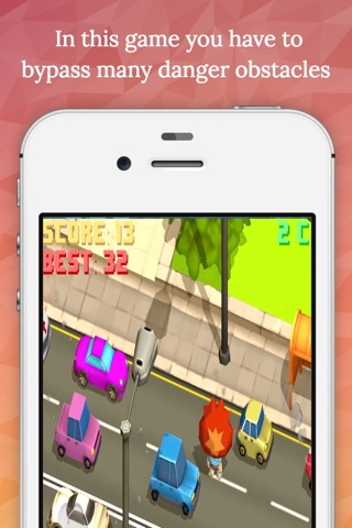 Crazy Road - Endless Arcade Game screenshot 4