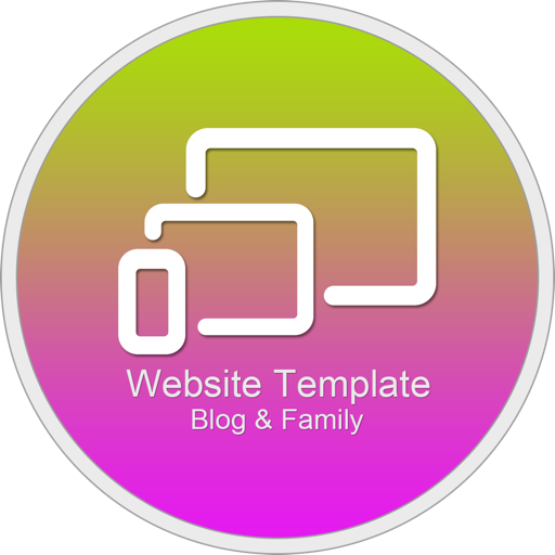 Website Template (Blog & Family) With Html Files Pack9