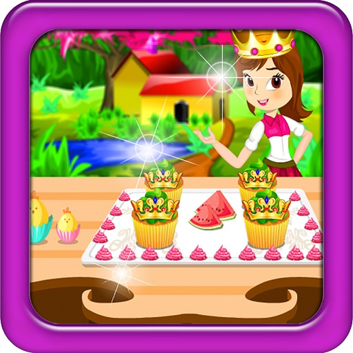 Princess Crown Cupcake Cooking iOS App
