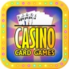 Casino Card Cames - Let it Ride On, 3 Card Poker, 4 Card Poker, BJ, Red Dog Poker & Asian Stud