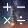 Galaxy Calculator ~ Best free calculator with animations and ambient music