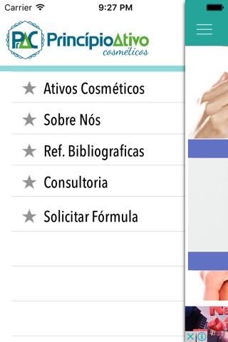Princípio Ativo Cosméticos screenshot 2