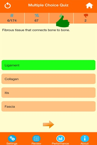 Medical Terminology : Skeletal System screenshot 2