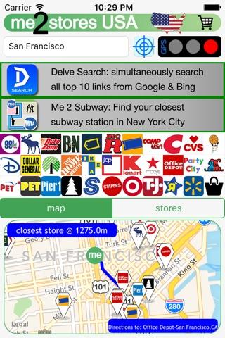 me 2 stores USA shop&retailer screenshot 1