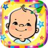 Libro para colorear bebés adorables - juegos de mamás y niñas para pintar