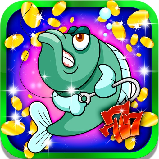 Fishing Boat Slots: Roll the lucky fisherman dice and win the artificial salmon crown iOS App