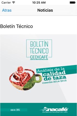 Precios del Café screenshot 2