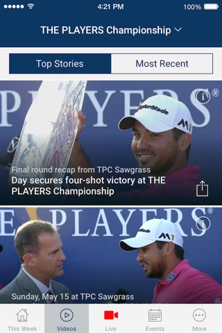 PGA TOUR LIVE screenshot 2