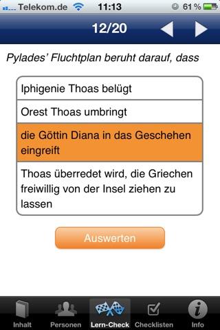 EinFach Deutsch … verstehen - Iphigenie auf Tauris screenshot 3