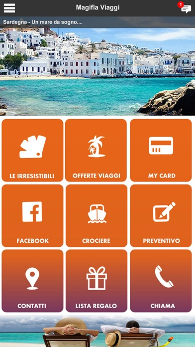 Screenshot of Magifla Viaggi - Viaggi e Turismo1