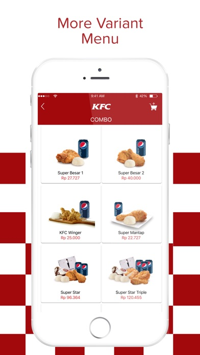 Download KFC Indonesia - Order Home Delivery App