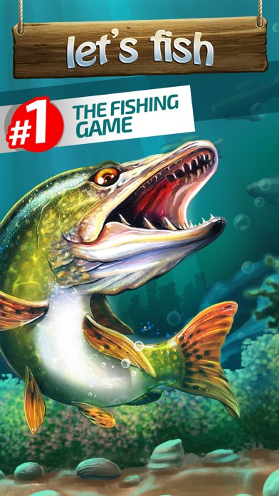 Let 39 s fish sport fishing games on the app store for Sport fishing games