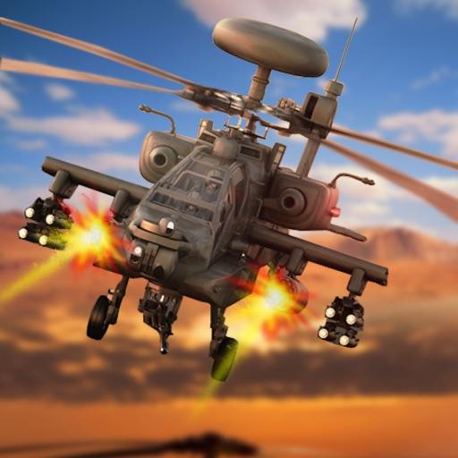 Gunship Air Helicopter War 3D iOS App