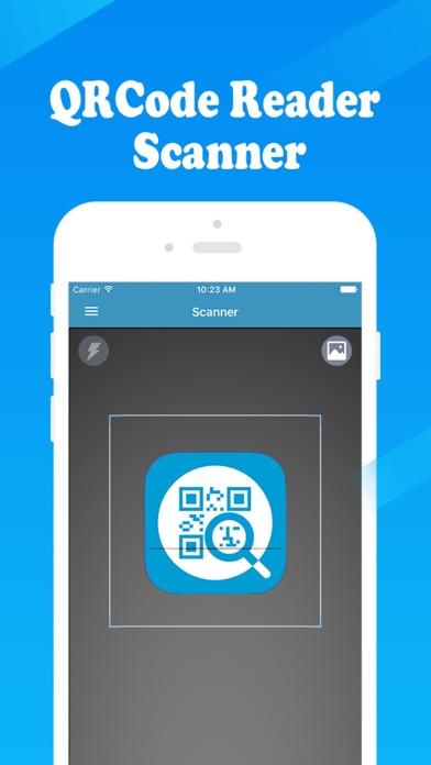 QR Reader - 二次元コード読取 二次元コード生成の作成のスクリーンショット1