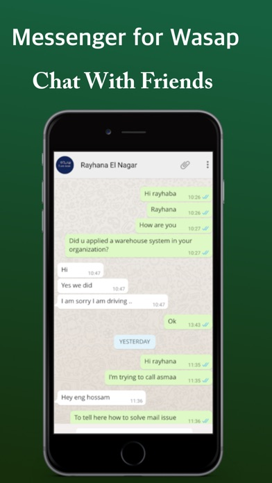 Messenger For Whatsap Web for iPad & iPhone Pro Screenshot