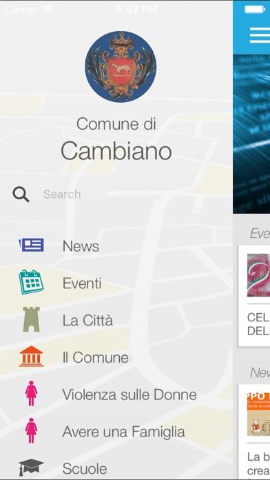 Screenshot of MyCambiano3