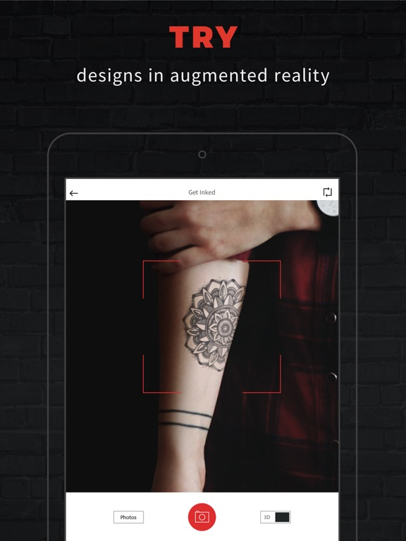 INKHUNTER Try Tattoo Designs In Augmented Reality On The
