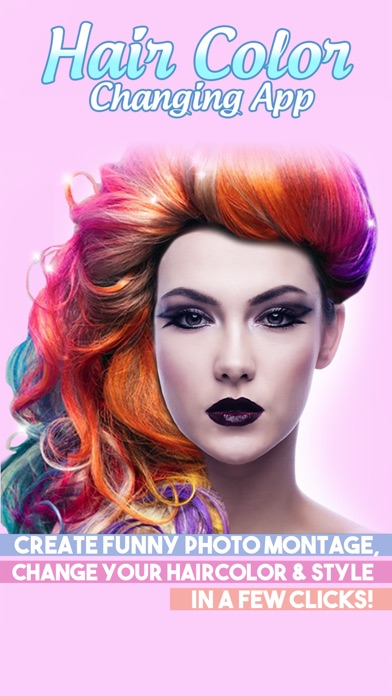 Application pour tester des couleurs de cheveux