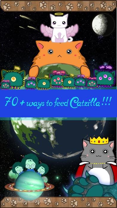 Catzilla: the fat cat clicker Screenshot
