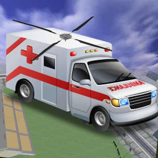 Flying Ambulance 3D - Ultimate Helicopter Transformer iOS App
