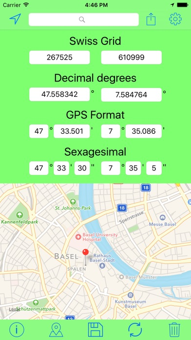 download Swiss Grid Outil Coordonnées apps 4