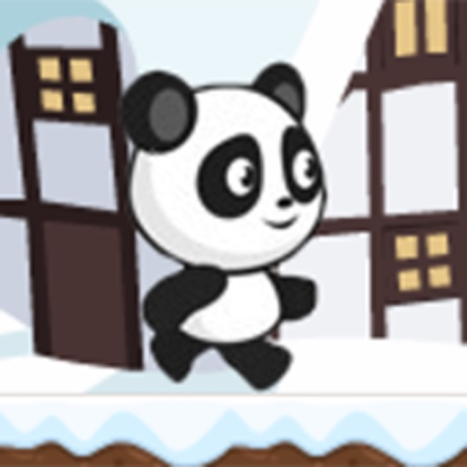 Panda Run - Protect The Snow Home Town Episode iOS App