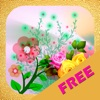 Flower Stickers-photo frame free sharing