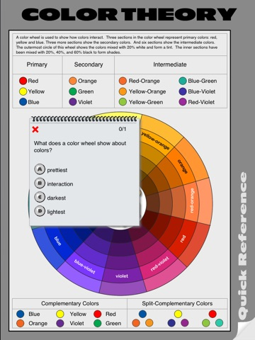 Color Theory Quick Reference screenshot 4