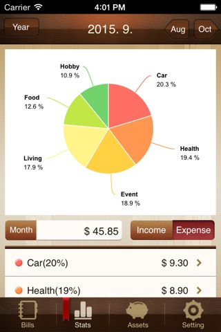 Money Manager Pro (PC Editing) screenshot 2