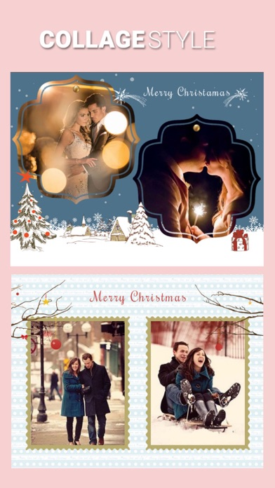 Screenshots of Christmas PIP Photo Collage for iPhone
