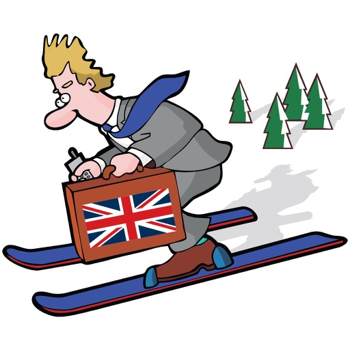 Boris Goes Skiing iOS App