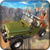 Offroad 4x4 Hill Flying Jeep - Fly & Drive Jeep in Hill Environment ordinary