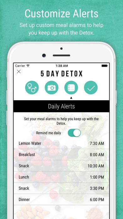 Screenshot for 5 Day Detox by Nikki Sharp in Egypt App Store