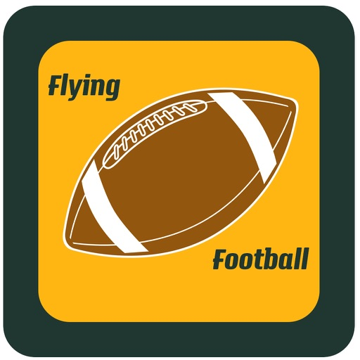 Flying Football Game a daring challenge of tapping skill and fun iOS App